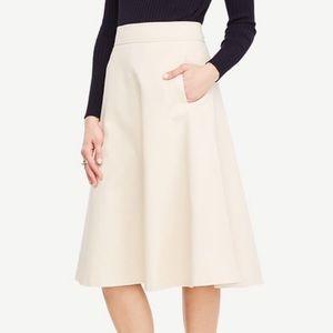 Ann Taylor Side Pocket Circle Skirt